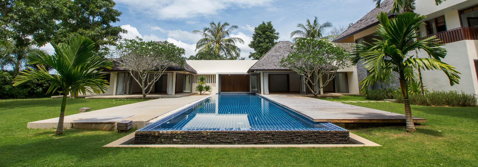 Pool Villa for Rent in Phuket. 5 bedrooms