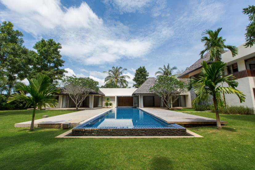 Pool Villa for Rent in Phuket. 5 bedrooms
