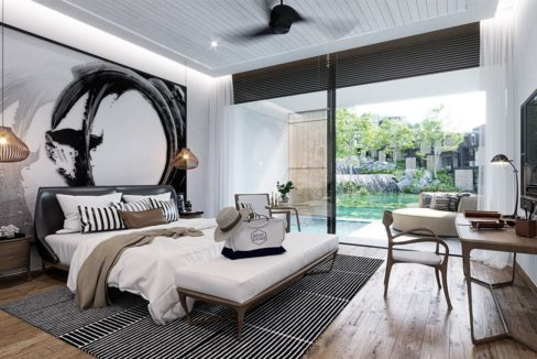 Bedroom Pool Villa for sale Phuket