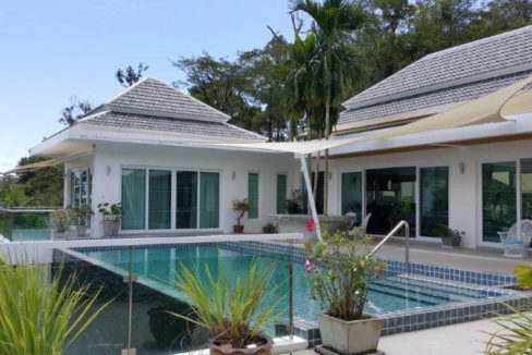 Swimming pool- Villa for sale Phuket