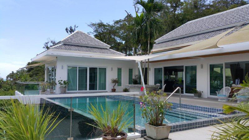 Pool Villa for Sale in Phuket. Sea view