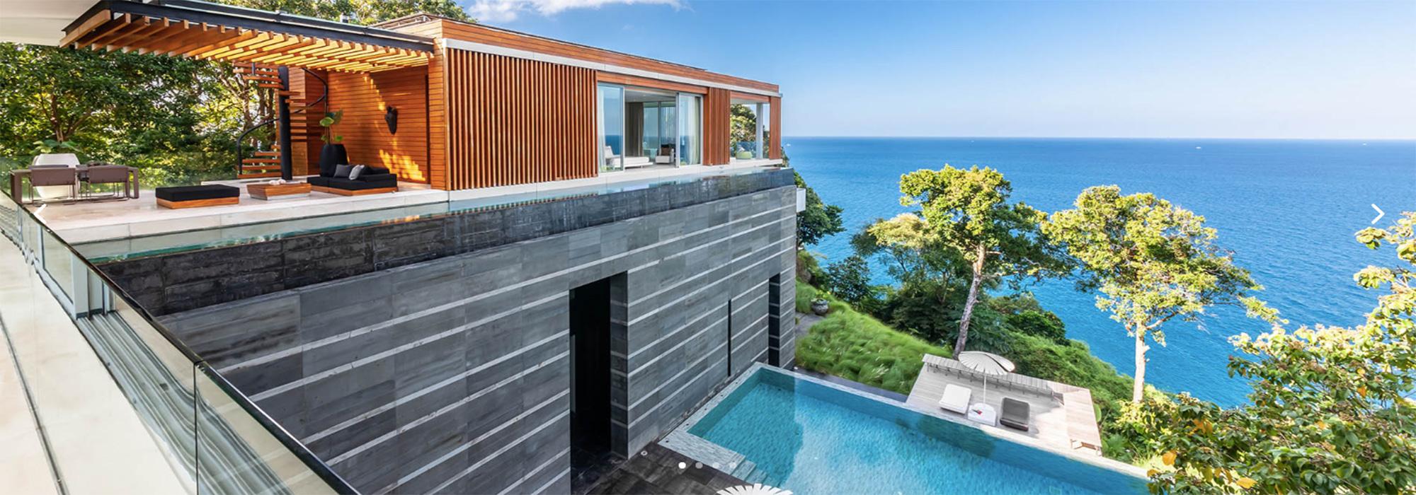 Luxury Villa for Rent Phuket. Ocean Front
