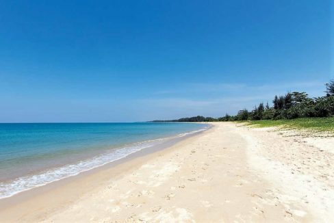 Beach front land for sale phuket
