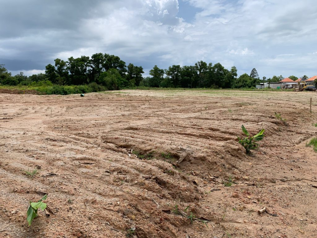 Land for sale in Phuket.