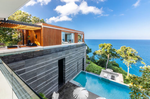 Luxury Pool Villa - Ocean front Sea view for sale in Phuket