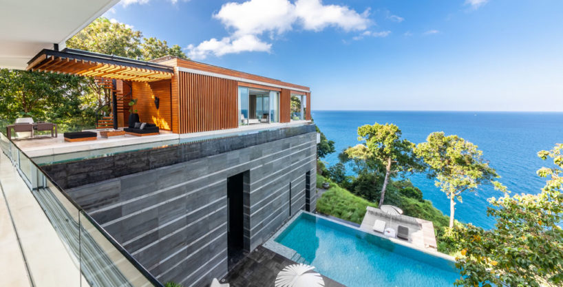 Luxury Pool Villa - Ocean front Sea view for sale in Phuket