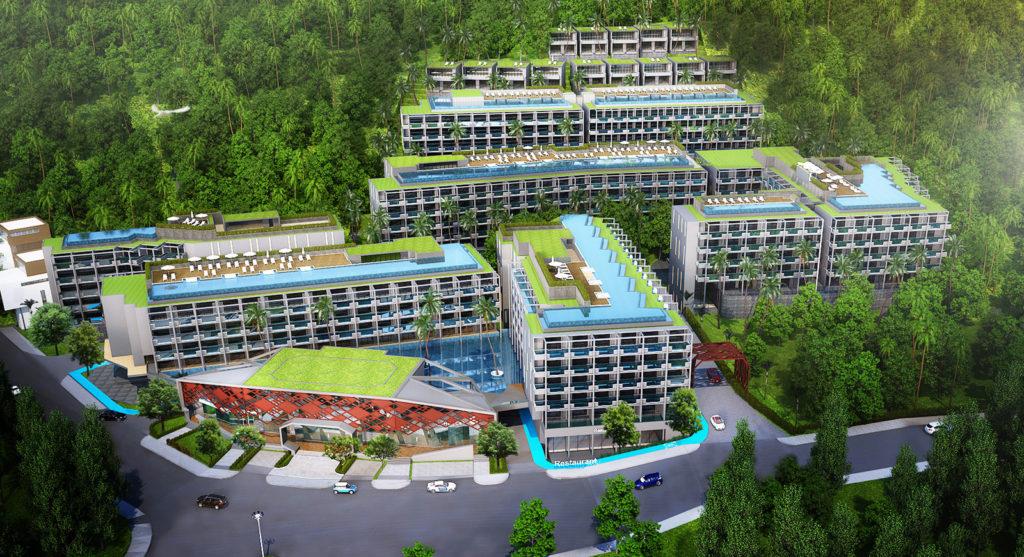 Sea view Condominium for Sale in Phuket