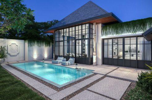 Swimming pool - Pool villa for sale Phuket