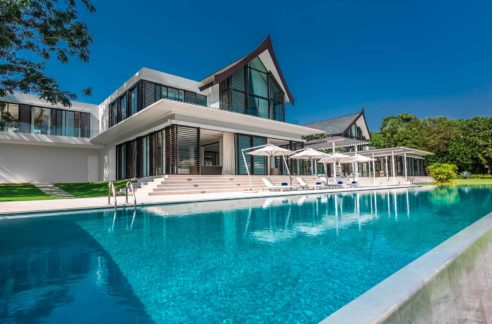 Luxury Beach Front Sea view Villa For Sale In Phuket