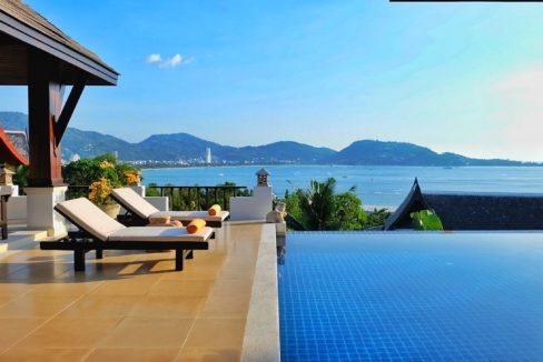 seaview villa for rent phuket