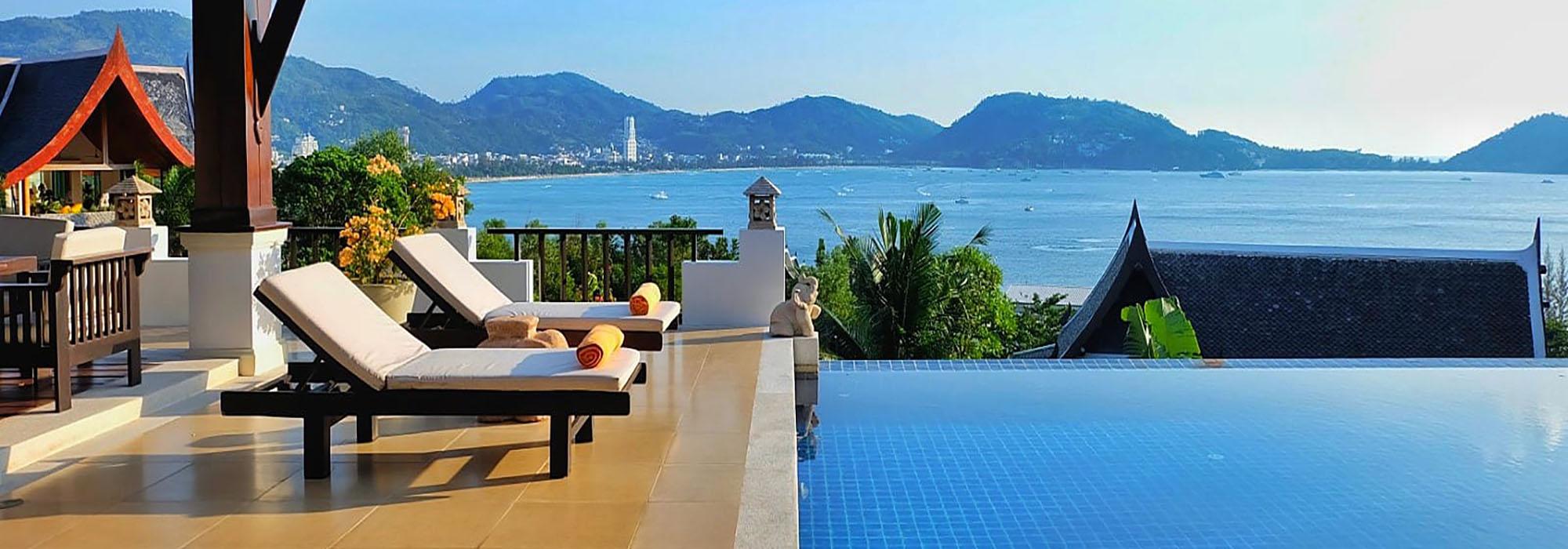 Seaview Villa for rent in Phuket